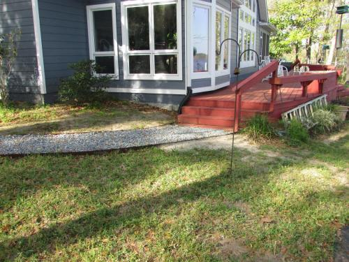 Walkway and Porch