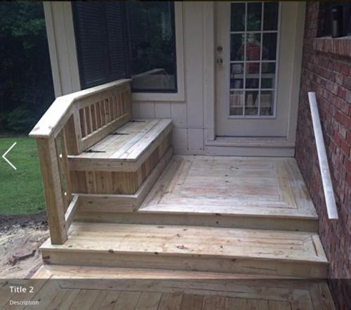 Small Wooden Deck