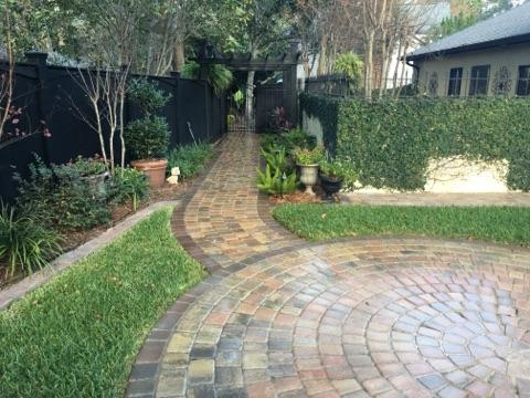 Path and Patio